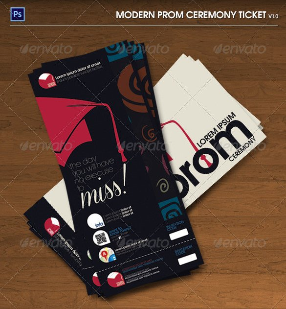 Prom Ticket Template Free 115 Ticket Templates Word Excel Pdf Psd Eps