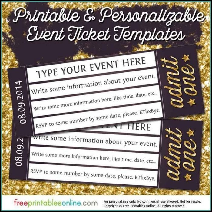 Prom Ticket Template Free Hollywood Prom Ticket Template Templates 1 Resume Examples