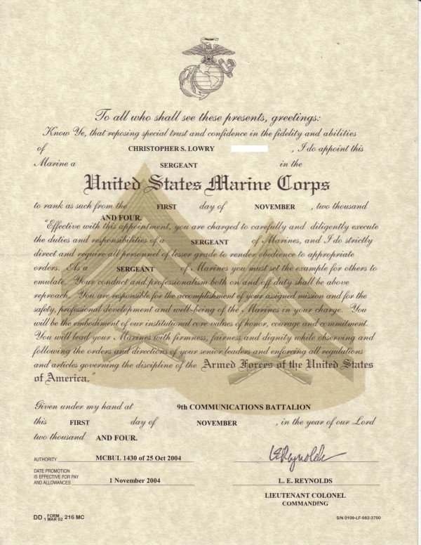 Promotion Warrant Template Usmc Index Of Cdn 11 1998 652