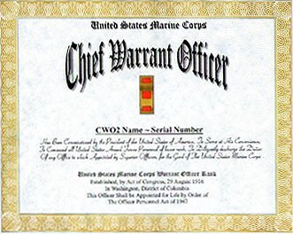 Promotion Warrant Template Usmc Marine Corps Warrant Ficer Promotion Display Recognition