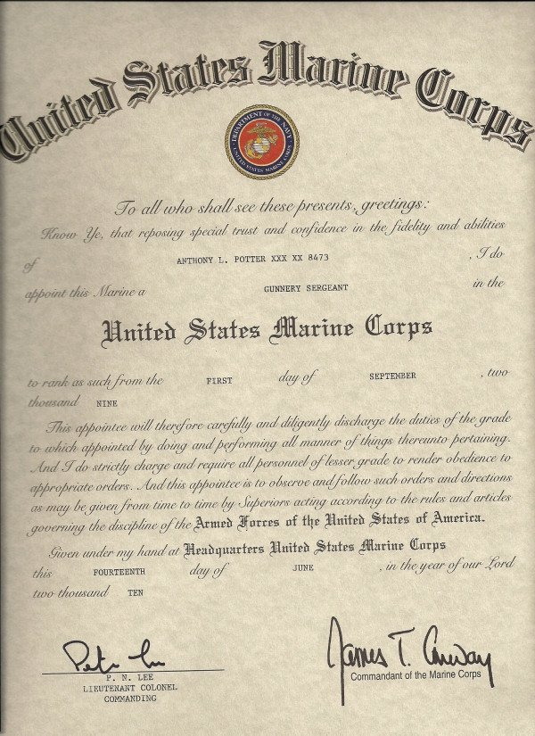 Promotion Warrant Template Usmc Promotion to Sergeant Quotes Quotesgram
