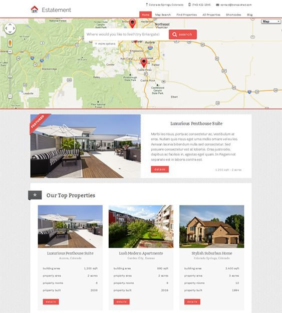 Property Management Websites Templates 20 Best Images About 20 Of the Best Real Estate Wordpress