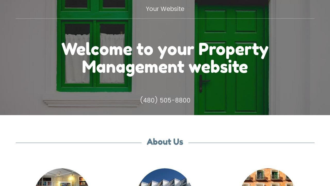 Property Management Websites Templates Example 14 Property Management Website Template