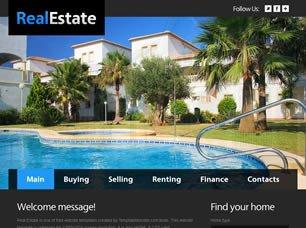 Property Management Websites Templates Free Real Estate Website Templates 32