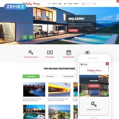Property Management Websites Templates Joomla Templates