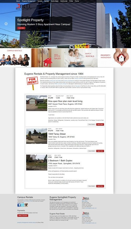 Property Management Websites Templates Property Management Website Design Templates Maintenance