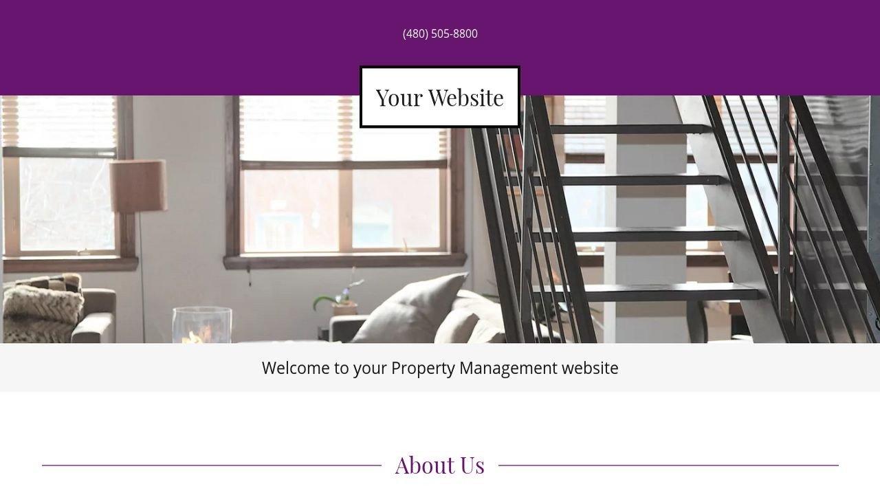 Property Management Websites Templates Property Management Website Templates