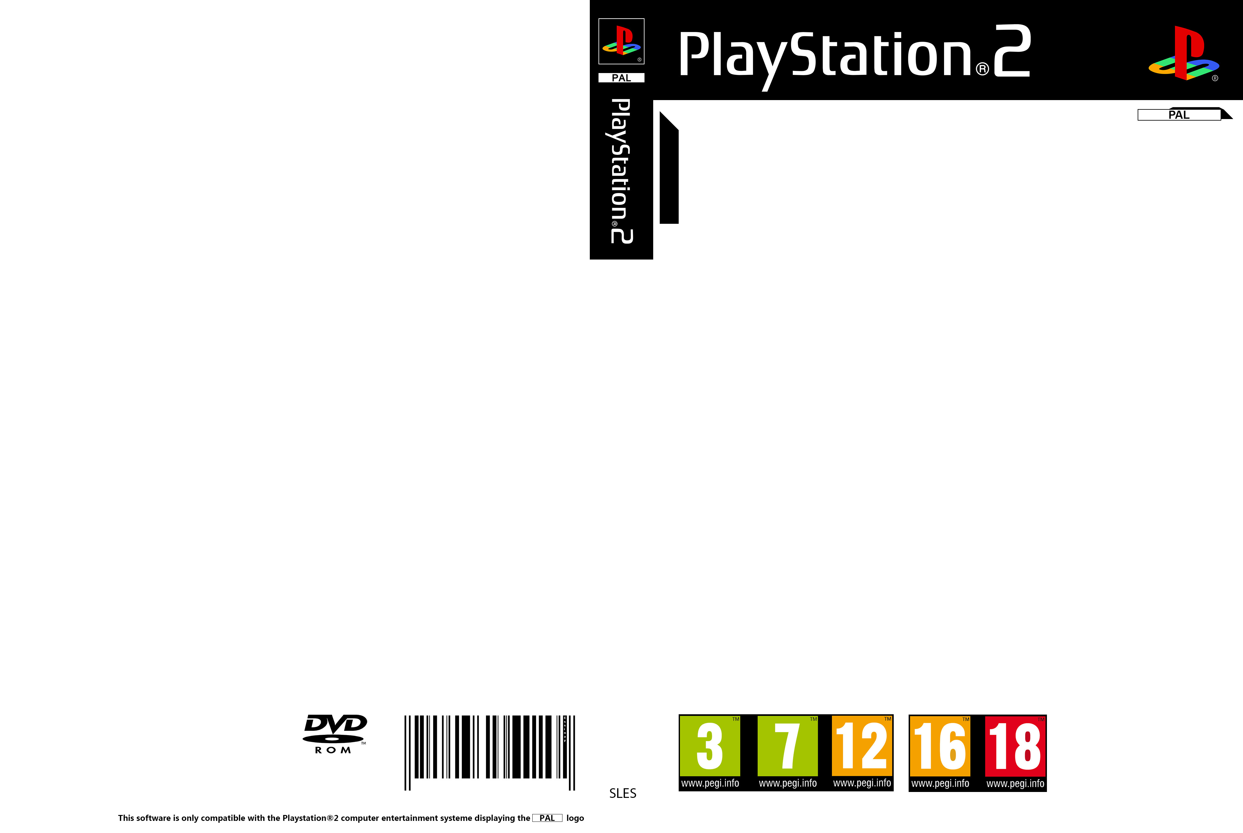 Ps2 Cover Template Playstation 2 Cover Pal Template by Essinay On Deviantart
