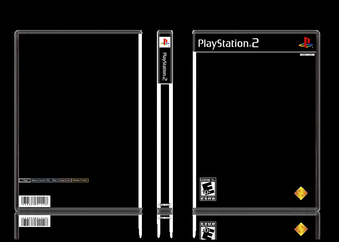 Ps2 Cover Template Playstation 2 Template