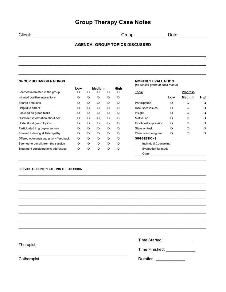 Psychotherapy Progress Note Template Psychotherapy Progress Notes Template Google Search