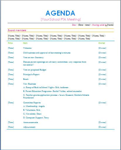 Pto Meeting Minutes Template Resultado De Imagem Para Parents Teachers association