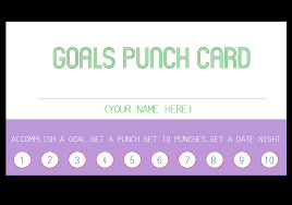 Punch Card Template Word Punch Card Template Editable Word Free Download