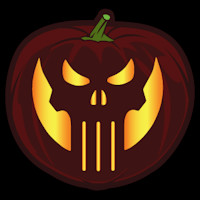 Punisher Skull Pumpkin Punisher Co Stoneykins Pumpkin Carving Patterns and