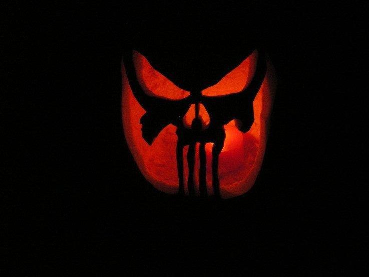 Punisher Skull Pumpkin Punisher Pumpkin My Firefighter Nation