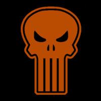 Punisher Skull Pumpkin Punisher Stoneykins Pumpkin Carving Patterns and Stencils