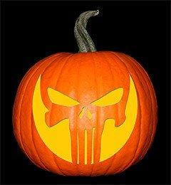 Punisher Skull Pumpkin Skull – Punisher