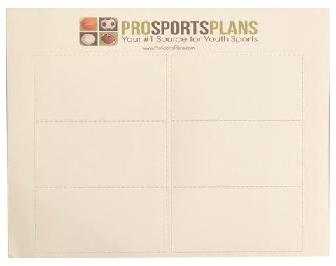 Qb Wrist Coach Template Qb Wrist Coach 5 Pack Play Sheets 30 Inserts with Template