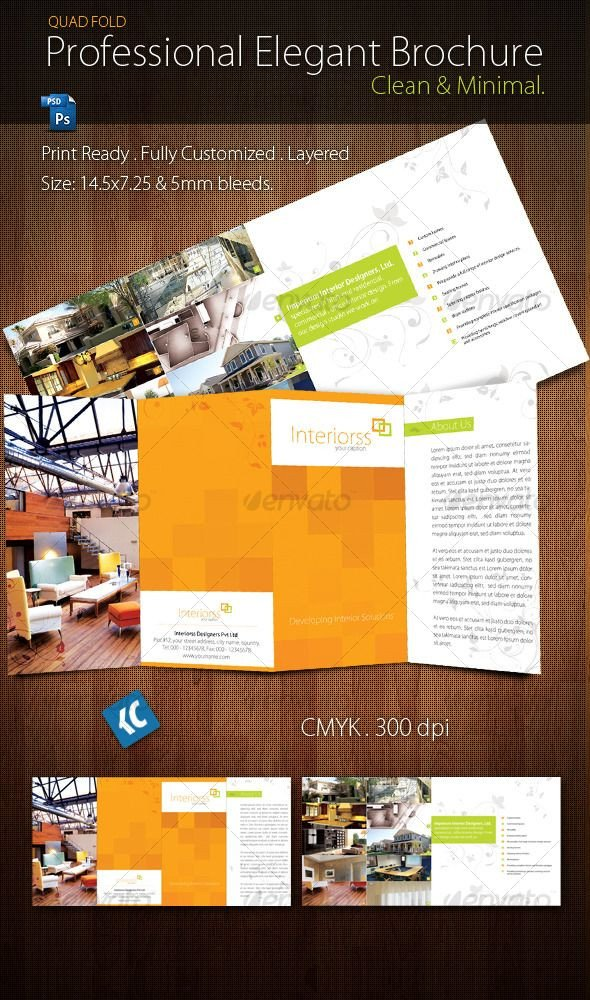 Quad Fold Brochure Template 17 Best Images About Brochures On Pinterest
