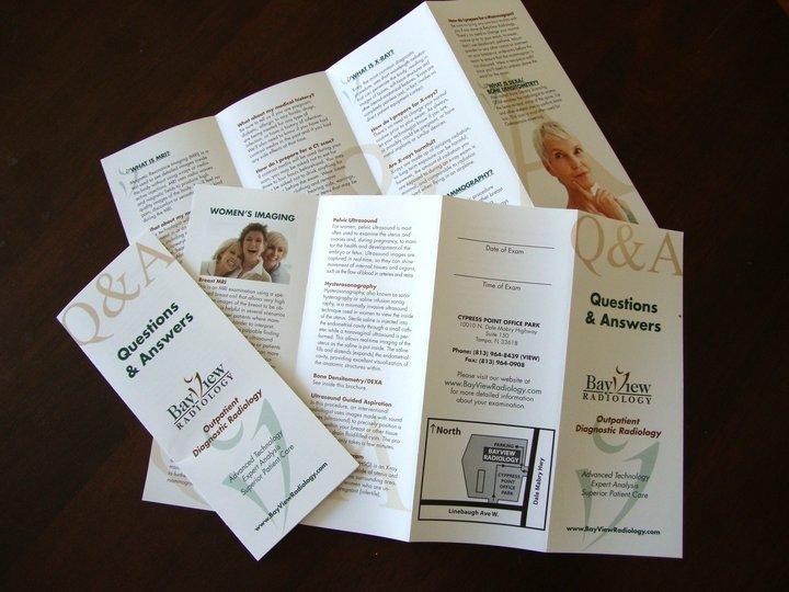 Quad Fold Brochure Template Full Service Marketing Case Study Sample Mdesign Media