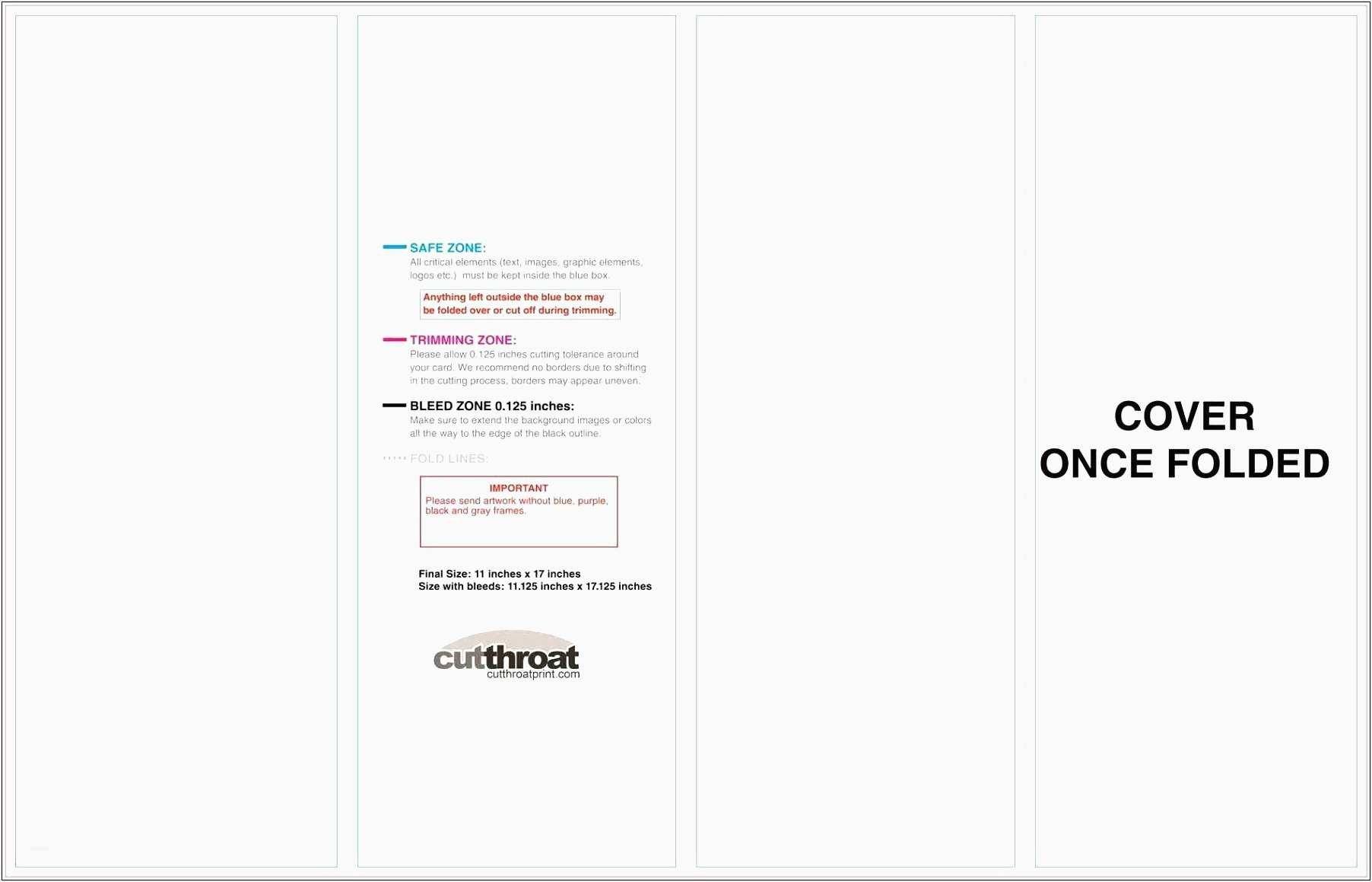 Quarter Fold Card Template 12 13 Blank Quarter Fold Card Template