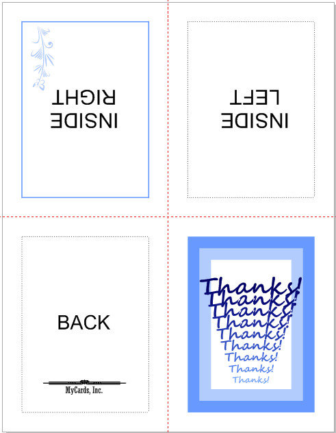 Quarter Fold Card Template Not Brochure but Like A Card Coreldraw Graphics Suite