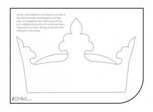 Queen Of Hearts Crown Template Pin by Montse Croft On Crowns Pinterest
