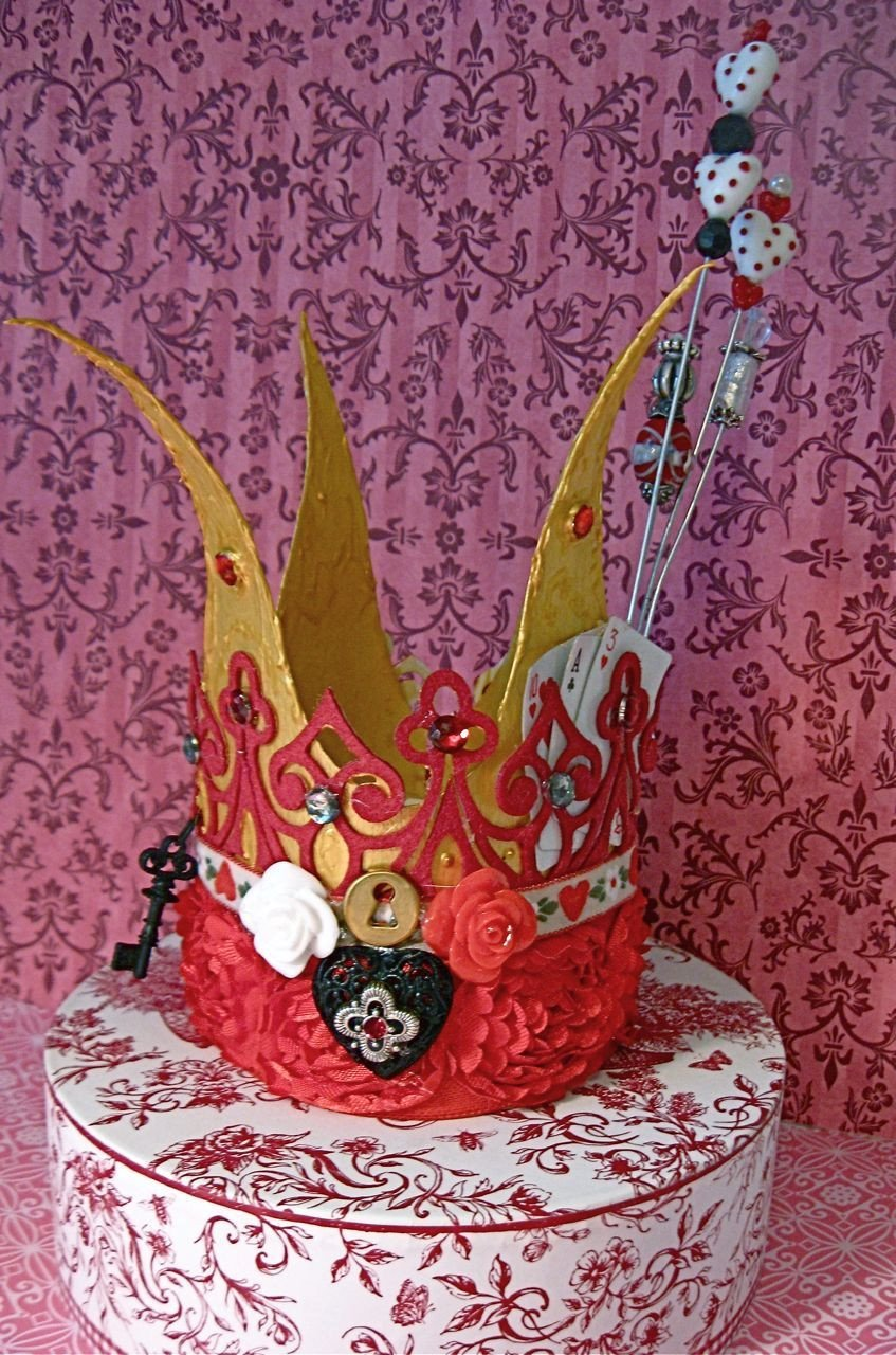 Queen Of Hearts Crown Template Queen Of Hearts Crown Template