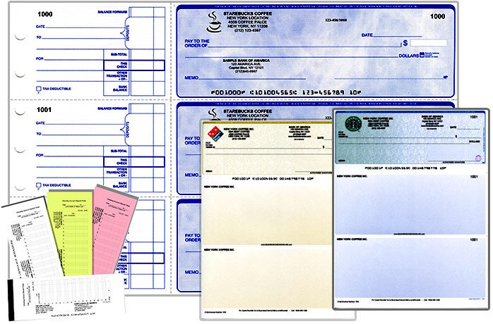 Quickbooks Check Printing Template Business Check Printing Save On Quickbooks Checks at