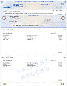 Quickbooks Check Printing Template Business Checks order Checks Line for Intuit Quickbooks