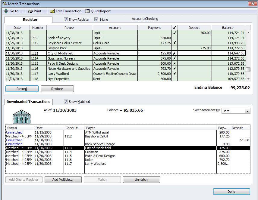 Quickbooks Check Printing Template Download Quickbooks Deposit Summary Template Free