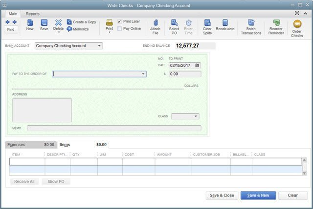 Quickbooks Check Printing Template What if I Need to Customize Check forms In Quickbooks