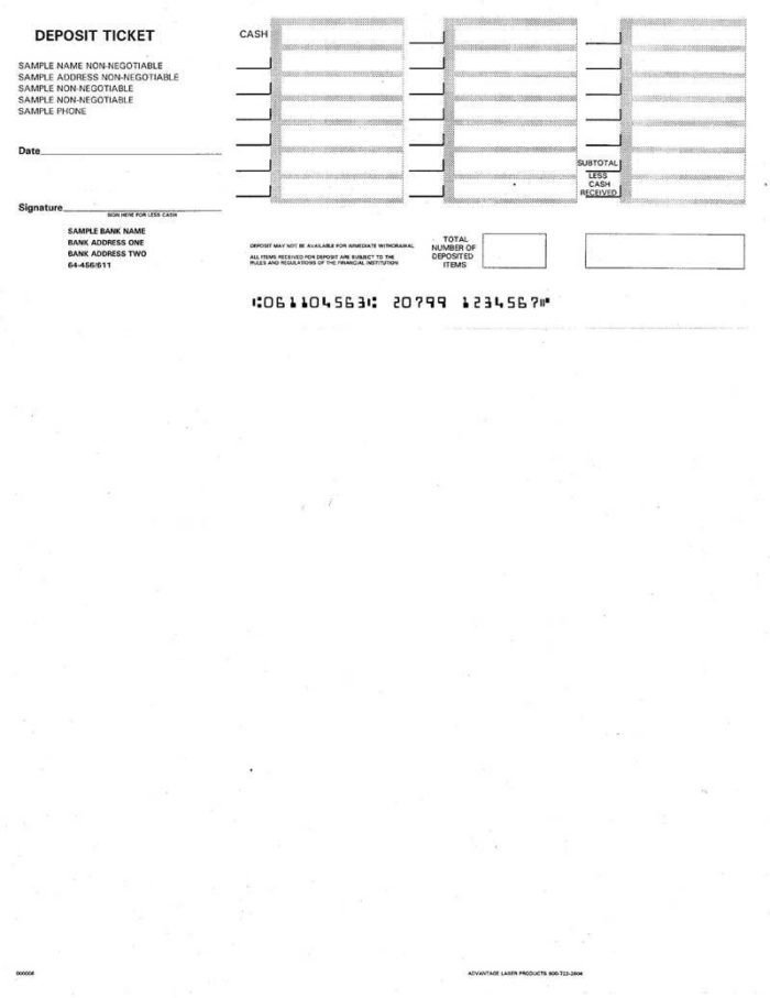 Quickbooks Check Template Word Deposit Slip Template Wells Fargo Templates Resume