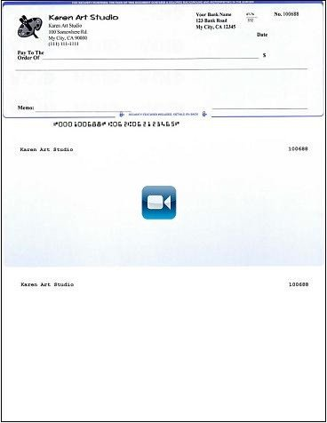 Quickbooks Check Template Word How to Print Quickbooks Patible Micr Blank Checks Yourself