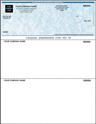 Quickbooks Check Template Word Quickbooks Check Template