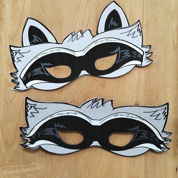 Raccoon Mask Printable Best 25 Raccoon Costume Ideas On Pinterest