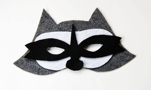 Raccoon Mask Printable Free Raccoon for Kids Download Free Clip Art