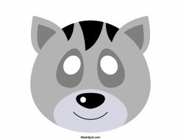 Raccoon Mask Printable Pin by Muse Printables On Mask Templates at Maskspot