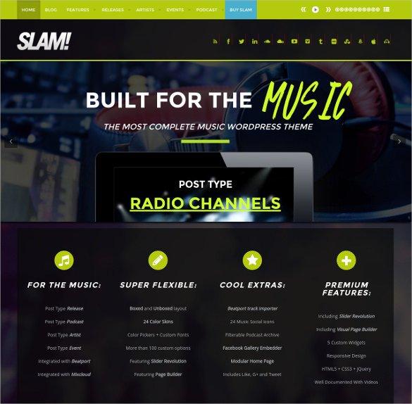 Radio Station Wordpress theme 30 Radio Station Wordpress themes & Templates