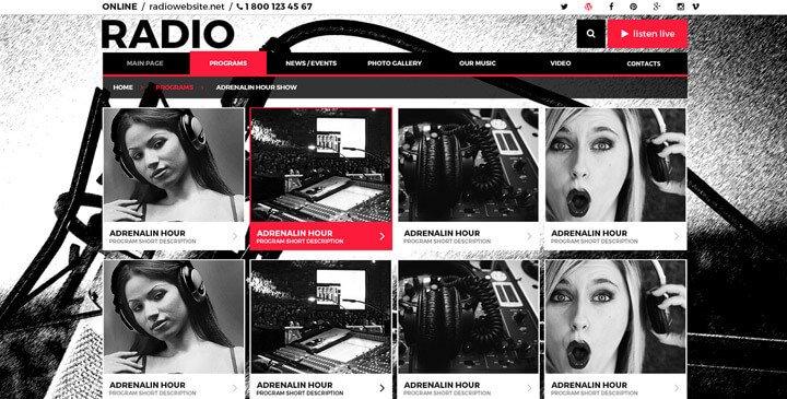 Radio Station Wordpress theme Radio Station Wordpress theme Wordpress Radio theme