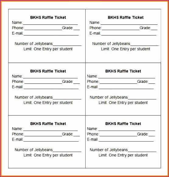 Raffle Ticket Template Excel 10 Excel Template Planner Exceltemplates Exceltemplates