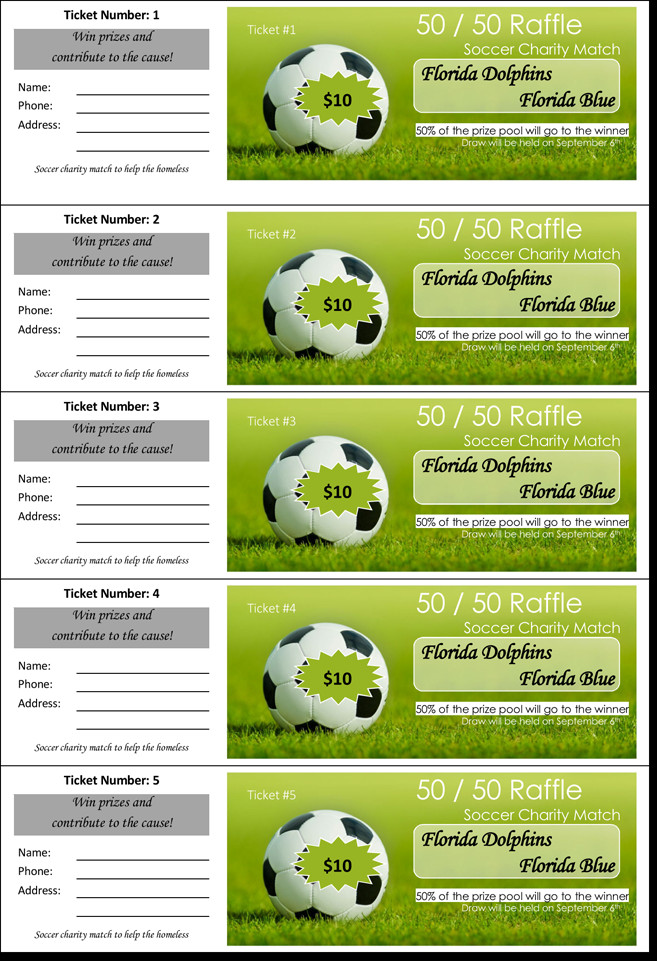 Raffle Ticket Template Excel 20 Free Raffle Ticket Templates with Automate Ticket