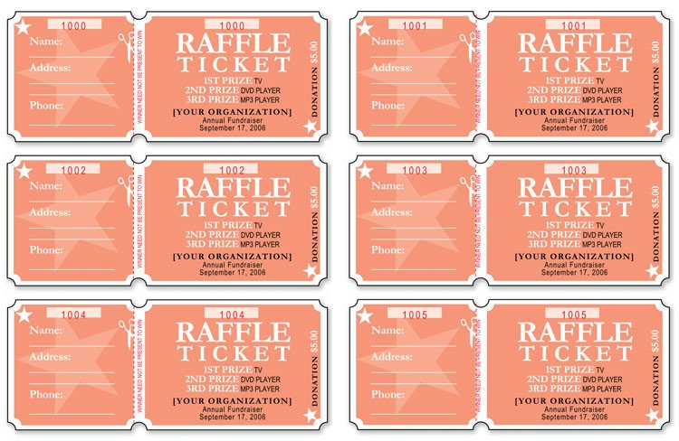 Raffle Ticket Template Google Docs 12 Free event Ticket Templates for Word Make Your Own