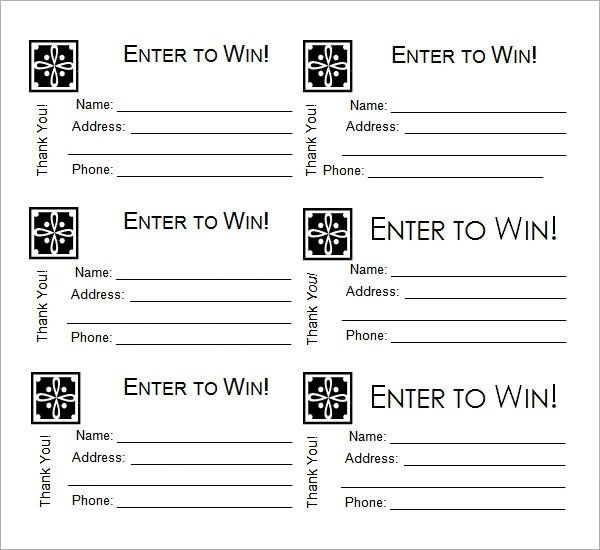 Raffle Ticket Template Google Docs Free 32 Raffle Ticket Templates In Illustrator