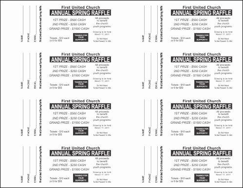 Raffle Ticket Template Google Docs Ticket Template Google Docs