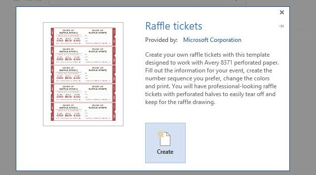 Raffle Tickets Template Word How to Get A Free Raffle Ticket Template for Microsoft Word