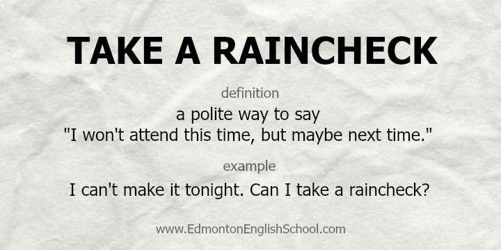 Rain Check Images 비와 관련된 표현2 Rain Idiom 네이버 블로그