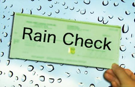 Rain Check Images Genesis Rain Credit New Golf Trips