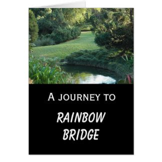 Rainbow Bridge Template Dog Memorial Cards Dog Memorial Card Templates Postage