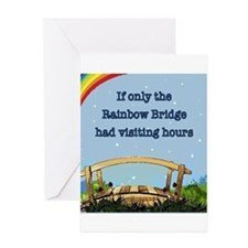 Rainbow Bridge Template Pet Loss Greeting Cards
