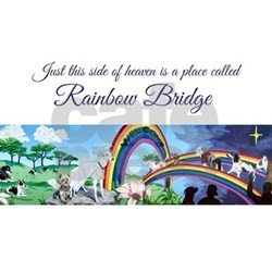 Rainbow Bridge Template Rainbow Bridge Greeting Cards